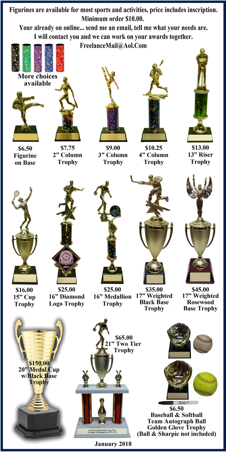 *Trophy Page